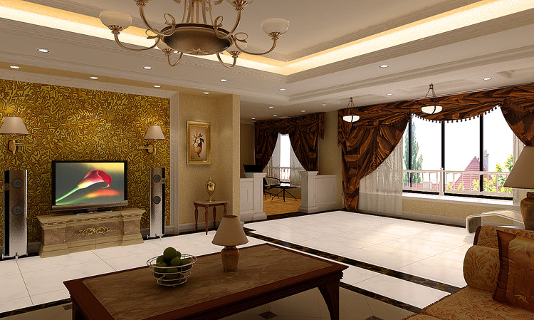现代欧式风格解释 现代欧式风格沿袭古典欧式风格的主元素,融入了现代的生活元素。欧式的居室有的不只是豪华大气,更多的是惬意和浪漫。通过完美的典线,精益求精的细节处理,带给家人不尽的舒服触感,实际上和谐是欧式风格的最高境界。同时,欧式装饰风格最适用于大面积房子,若空间太小,不但无法展现其风格气势。