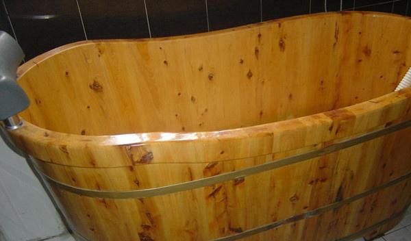 木桶泡澡怎么样?泡澡木桶尺寸的确定