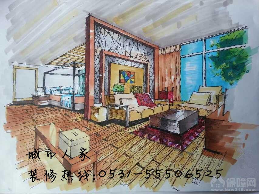 【济南城市人家】手绘艺术与生活
