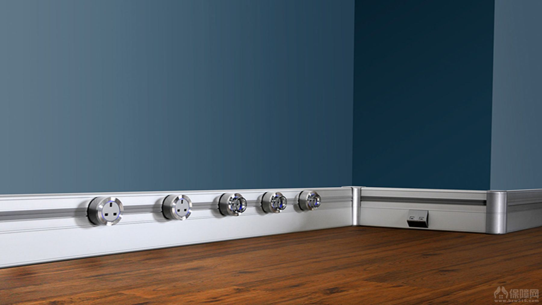eubiq实验室安全插座 室内电路设计