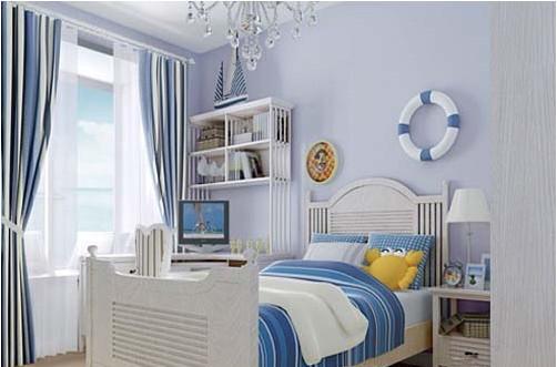 色彩纯美 地中海风格儿童房