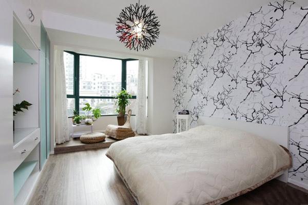 创一份舒适简约 黑白灰三色打造130平三居