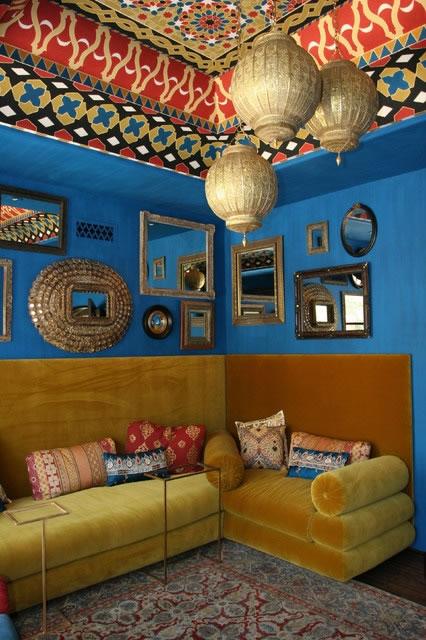 经典东南亚风格客厅设计