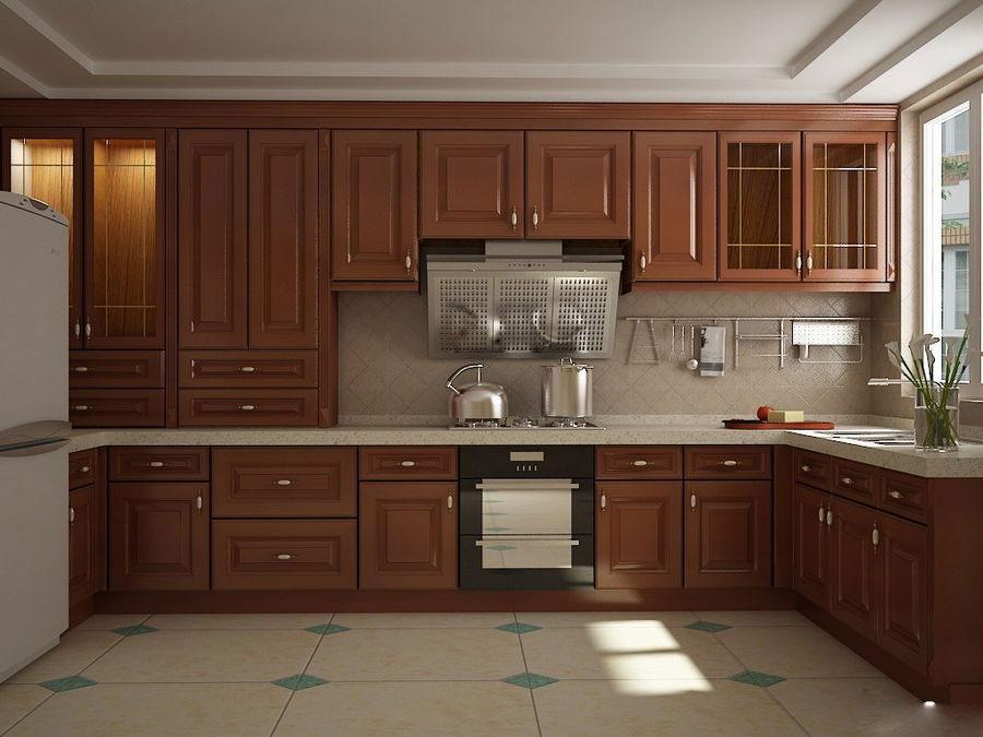 大户型新中式风格厨房装修