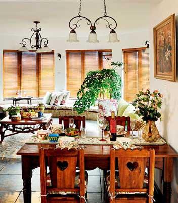 经典田园风格设计 客厅图片