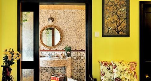 经典田园风格设计 卫生间图片