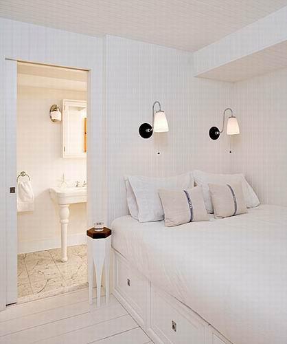 北欧风格别墅欣赏 卧室图片