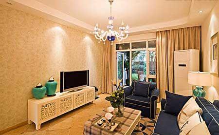 客厅装饰风水知识 用陶瓷台灯提风水
