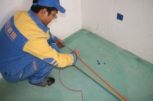 二,创新型的施工工艺:     家装电路施工改造4f级单管单线制敷设