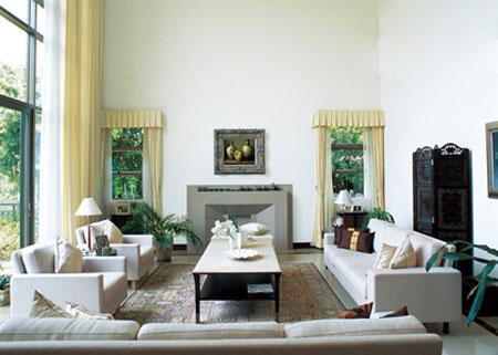 客厅植物,客厅风水,客厅装修效果图