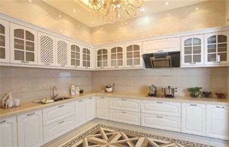 厨房瓷砖贴图合理选择 打造时尚现代厨房