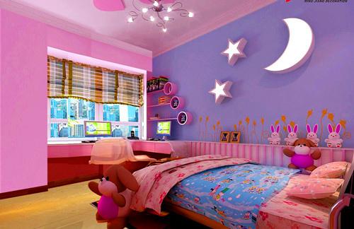 儿童房间装修 给孩子最好的成长环境