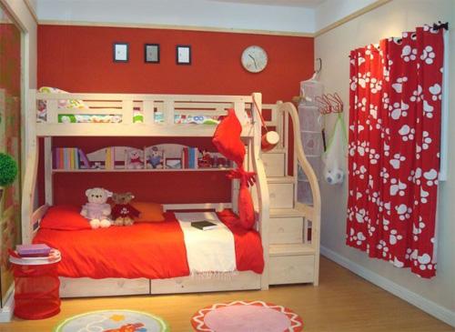 儿童床楼梯柜安装步骤图