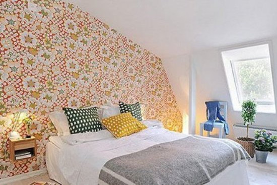 2015卧室壁纸装修效果图