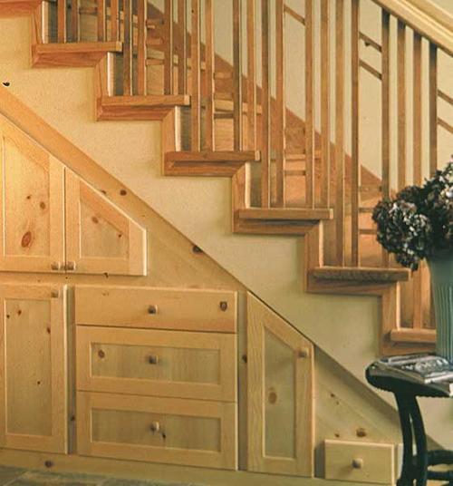 10类楼梯下方空间改造方案 42图挑战空间利用值_装修
