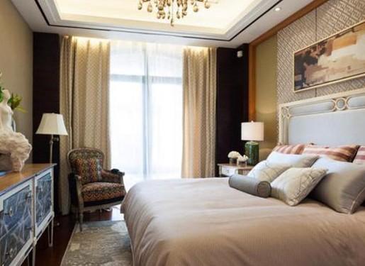 背景墙 房间 家居 酒店 设计 卧室 卧室装修 现代 装修 515_375图片