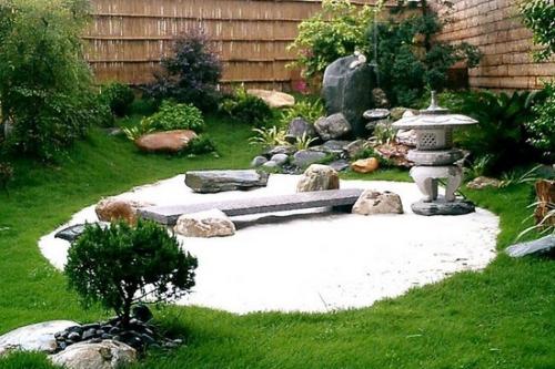 新型日式庭院设计图欣赏 展现独特的美!