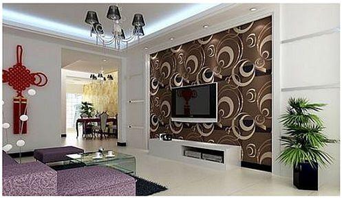 大户型客厅交换空间设计 8款电视背景墙设计_装修保障