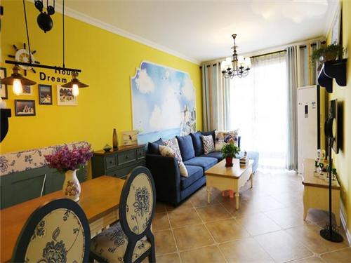 清新地中海风格 开放式家居设计