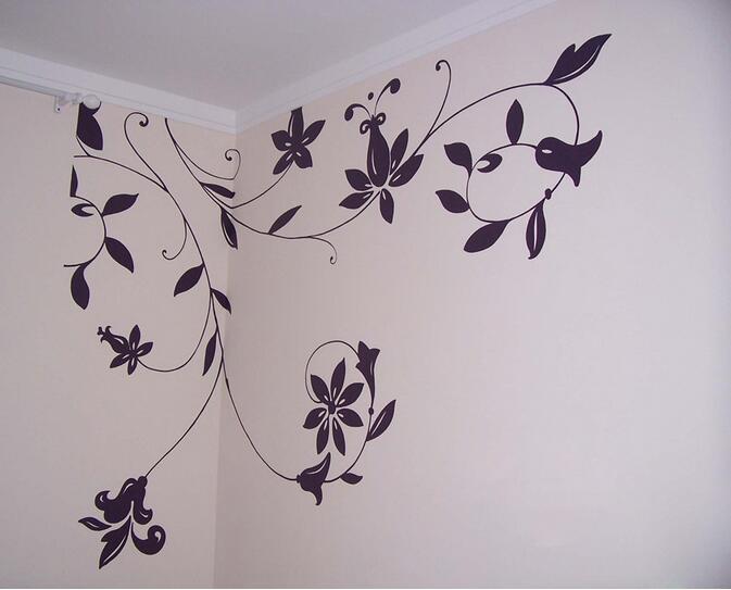 手绘墙画素材哪里找 手绘墙画价格是多少