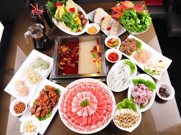 美食火锅背景图片素材