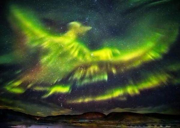 全球十个女生可独自旅行的地方 冰岛又现极光似凤凰展翅