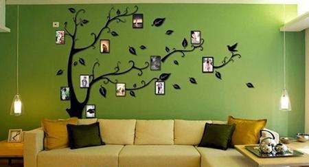 沙发背景墙别放空 这样的装修让家居变高大上