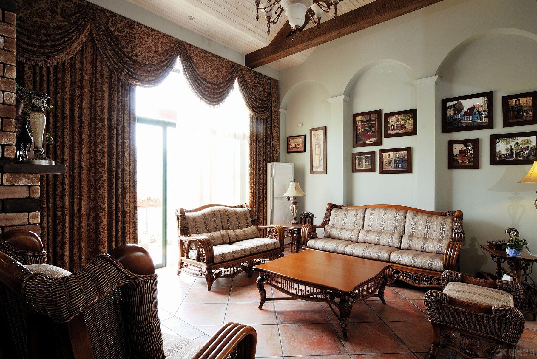 装修保障网 装修学堂 美式风格 美式乡村风格家具有什么特点 美式家具