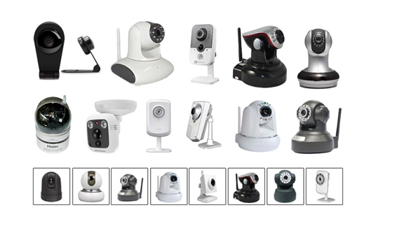组装监控摄像头配件_监控摄像头需要比较容易的去安装和固定