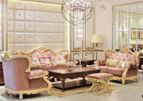 沿袭古典欧式风格,融入了现代的元素
