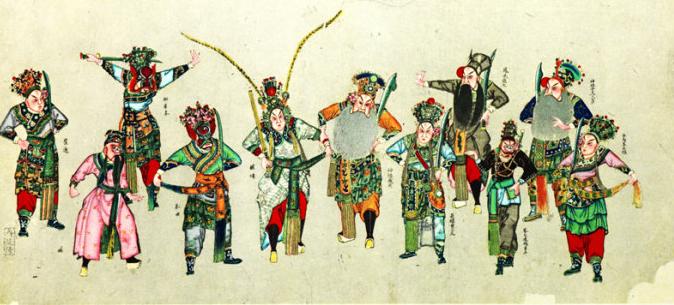 木版年画是中国历史悠久的汉族传统艺术形式,有着一千多年的历史。到了清代中晚期,民间年画达到了鼎盛阶段。那么木板年画制作过程怎么呀?和装修网小编一起去学学吧!    1.起稿:师绘制线描画稿;首先选好题材、确定内容,然后由画师构思起稿。拿出初稿后由画店反复审稿、画师反复修改才能定稿。由画师再勾线制稿,最后交出一张墨线稿、一张色彩稿和几张分色稿,以供刻板。   2.