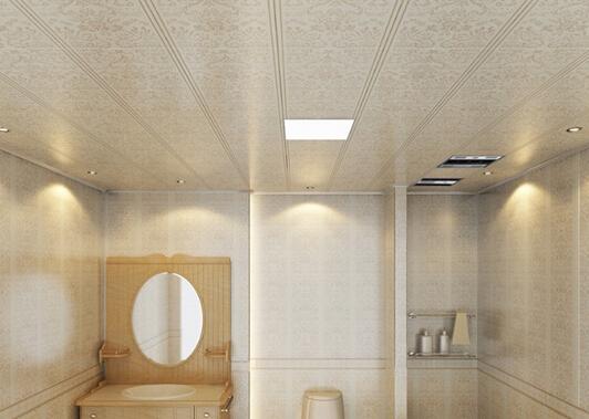 吊顶材料及其结构,也能有效保护厨房及卫生间内日益