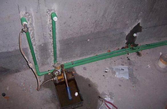 安装 水管安装流程以及安装注意事项       ppr水管是如今家装中的