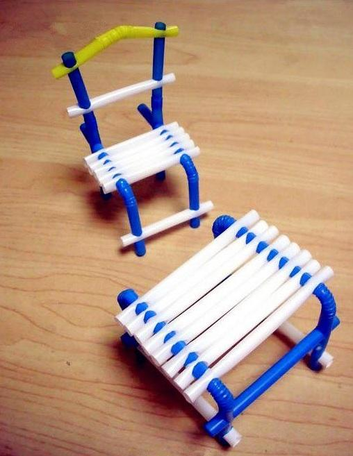 如:椅子,星星,房子,玫瑰花,眼睛,秋千等等,这些创意手工diy你绝对想不