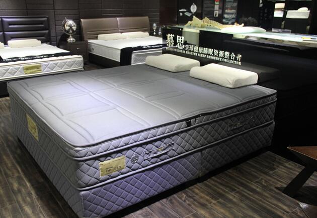 """打造的慕思3d系列床垫,该床垫百万个""""x""""型的结构纤维代替了传统的弹簧"""