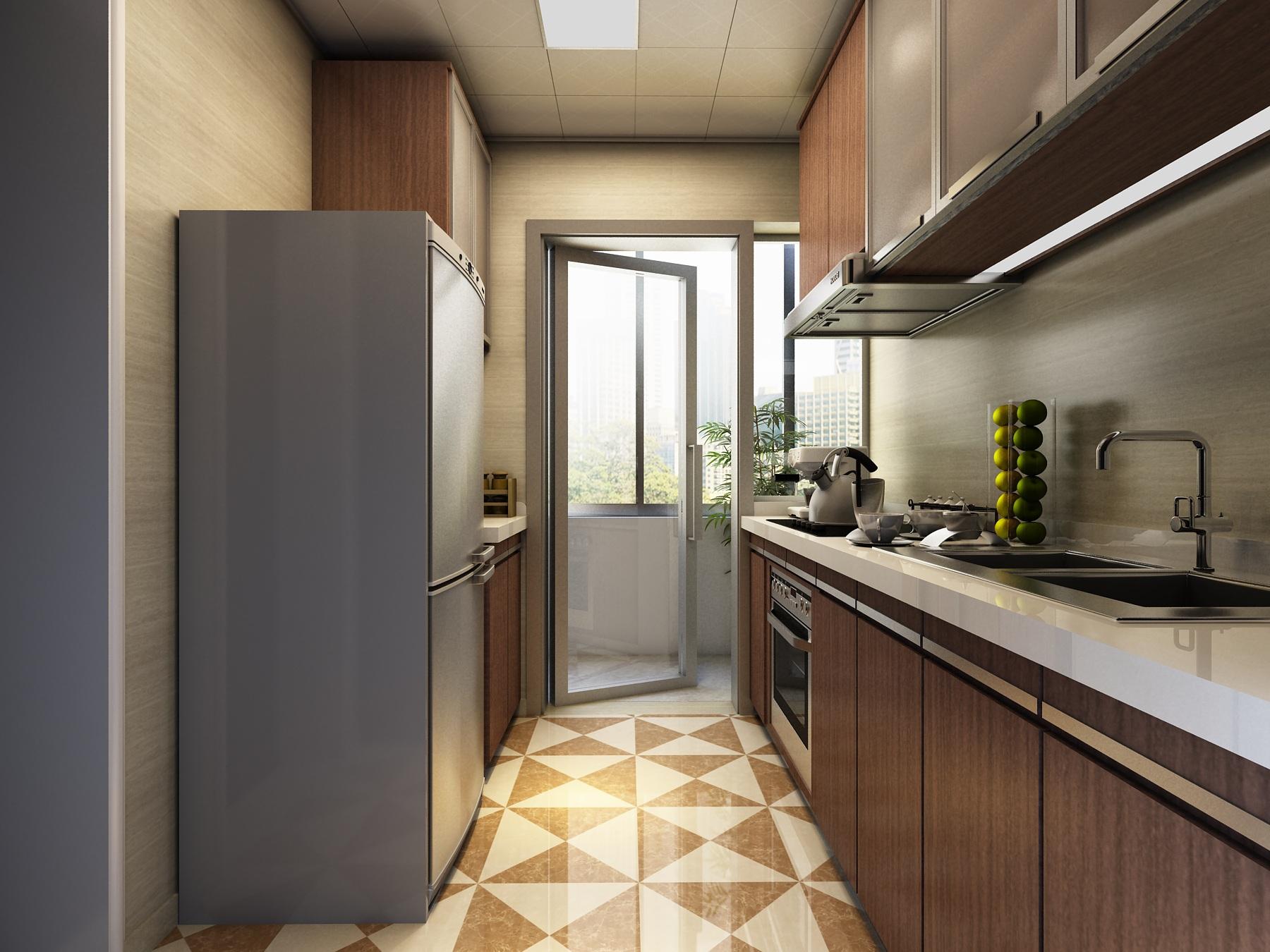 厨房跟卫生间并排如何装修