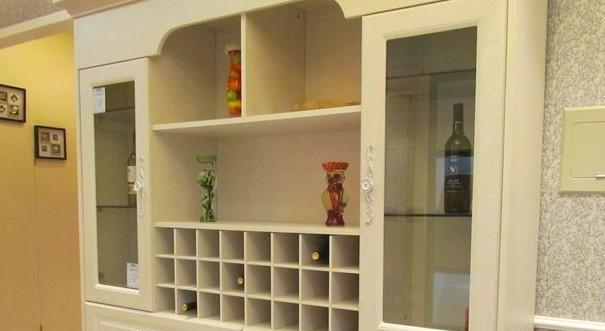 欧式酒柜隔断造型 家装新潮红酒柜尺寸
