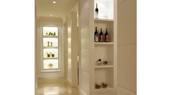 欧式酒柜隔断造型 家装新潮红酒柜尺寸图片
