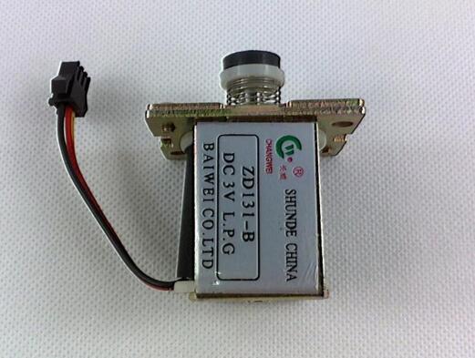 燃气热水器电磁阀的结构