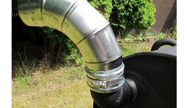 水桶改造变身烧烤架制作图解