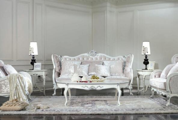家居装修风格意识各式各样,欧式风格是主流风格之一,沙发又是我们必不图片