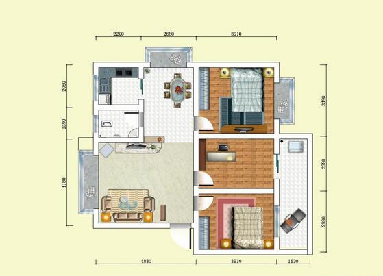 房屋设计风格 房屋设计平面图欣赏