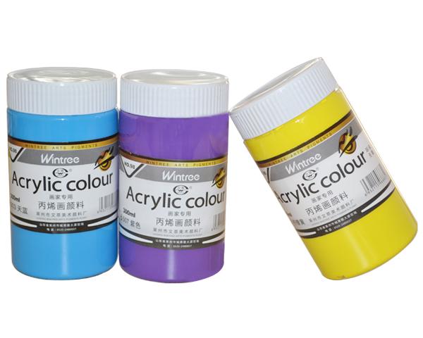 【丙烯颜料】丙烯颜料的用途
