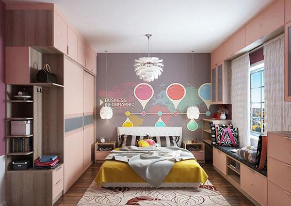 女生最爱的卧室装修效果图 少女心爆棚