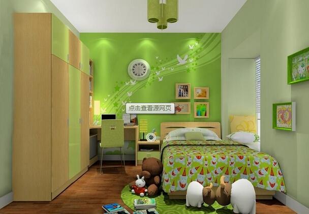 儿童房手绘墙制作攻略 给小盆友一个缤纷世界