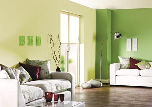 立邦漆綠色 效果圖