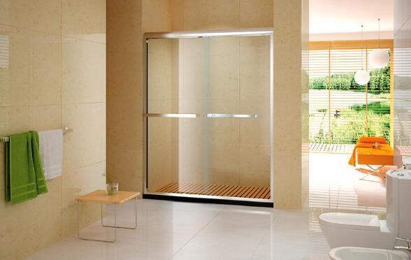 卫生间隔断石卫生间窗帘隔断图片8