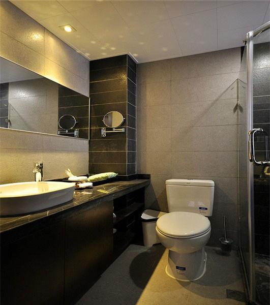 洗脸盆在卫生间外面装修设计图