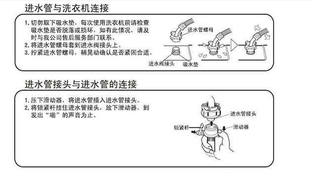 全自动洗衣机怎么安装呢?   一、拆除运输螺栓   为了防止运输途中的内部损坏,在洗衣机背面安装了4个运输螺栓。在使用洗衣机前应拆除这些螺栓。如果螺栓没有被拆除,可能会引起强烈的振动,噪声和故障。   洗衣机维修拆装的步骤如下:   首先用随机附带的扳手旋松4个螺栓,接着扭动运输螺栓橡胶,将橡胶和螺栓一起拔出,然后用随机附带的运输螺栓孔塞封闭螺孔。   注意:应保存螺栓和扳手,当再次运输洗衣机是,要重新安装好运输螺栓。    二、连接进水管   进水管的连接包括进水管与洗衣机进水阀的连接及进水管与水龙