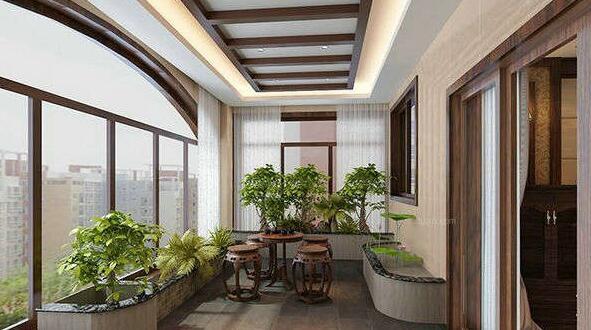 阳台装修打造室内阳台花园设计